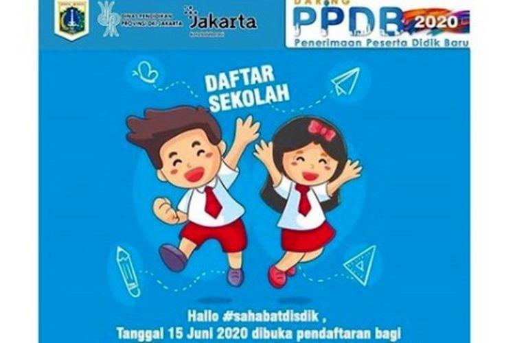Informasi PPDB Jakarta 2020.