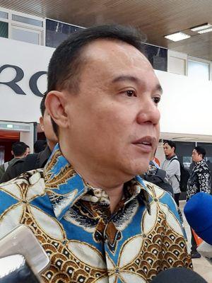 Wakil Ketua Umum Partai Gerindra Sufmi Dasco Ahmad di DPR, Senayan, Jakarta, Senin (10/2/2020).