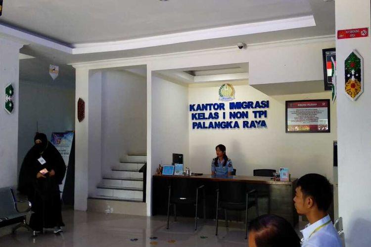 Aktifitas di Kantor Imigrasi Kelas I Non TPI Palangkaraya