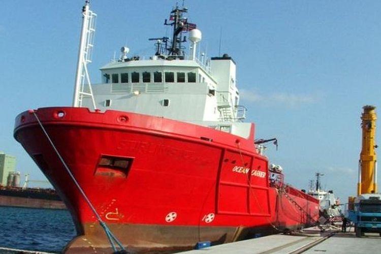 Ilustrasi Kapal Kargo Jenis Ocean Carrier