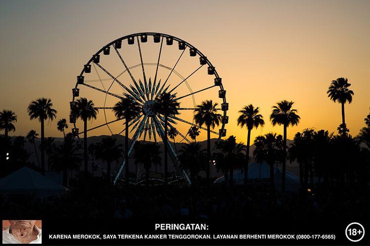 Ilustrasi Coachella Festival