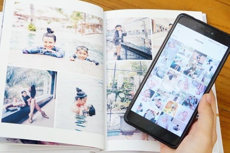 Contoh album foto dari ID Photobook