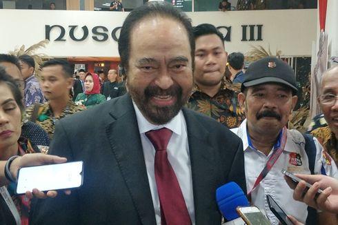 Surya Paloh: Konsekuensi Dukungan Tanpa Syarat, Enggak Usah Banyak Tanya soal Menteri