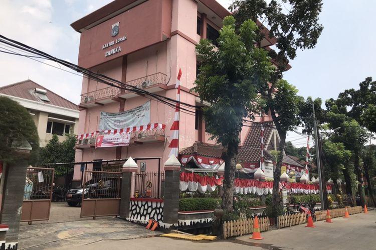 Kantor Kelurahan Bangka, Mampang Prapatan, Jakarta.
