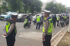 Kejar Pendapatan Pajak lewat Razia, 225 Kendaraan di Jakarta Pusat Ditilang