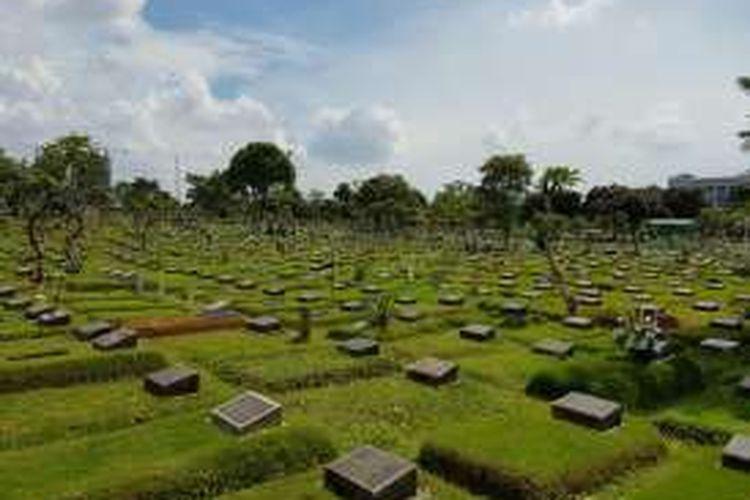 Tempat Pemakaman Umum (TPU) Karet Bivak, Tanah Abang, Jakarta Pusat.