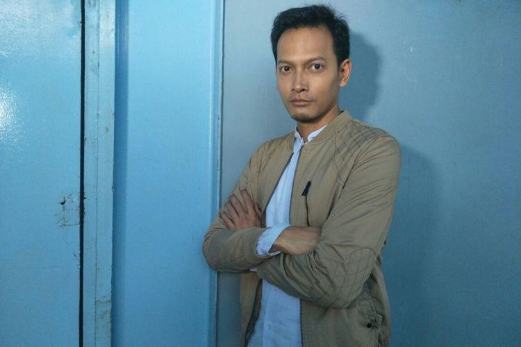 Fedi Nuril ditemui usai menjadi bintang tamu program bincang-bincang di Studio Trans TV, Mampang, Jakarta Selatan, Jumat (15/12/2017).