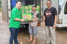 Nissin Kelapa Ijo Beri Bantuan Pangan untuk Korban Banjir Jakarta
