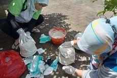 Bank Sampah di Banyuwangi Olah Limbah Masker Jadi Pot Bunga