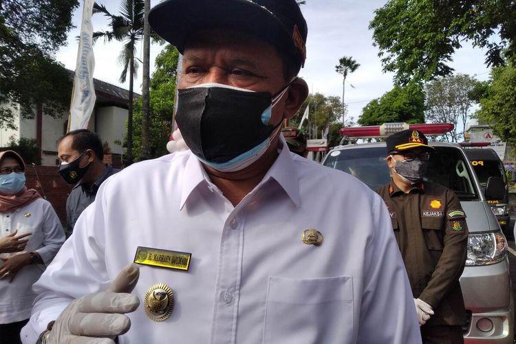 Plt Bupati Nganjuk Marhaen Djumadi.
