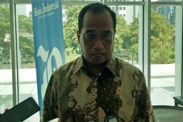 Menteri Perhubungan Budi Karya Sumadi di Jakarta, Rabu (25/9/2019).
