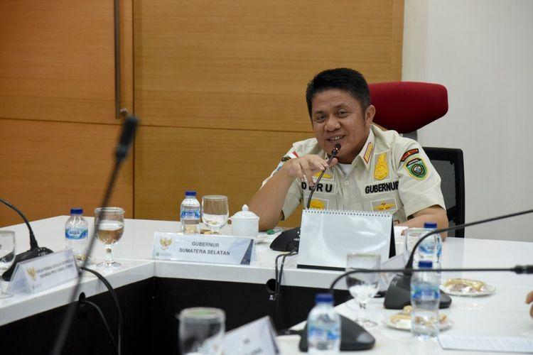 Gubernur Sumatera Selatan Herman Deru