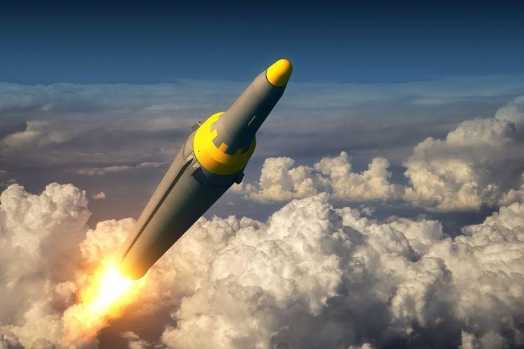 Ilustrasi senjata nuklir