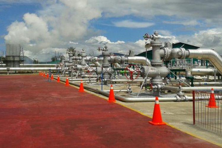 Sumur-sumur panas bumi (geothermal) di PLTP Lahendong unit 5 dan 6. Ada 5 sumur yang beroperasi saat ini dari 6 sumur yang ada