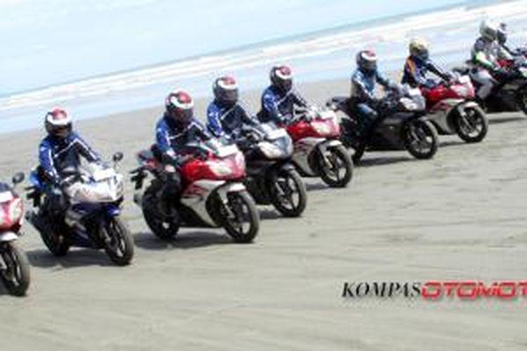 Yamaha R15 touring Banda Aceh-Medan (16-20 Mei 2014).
