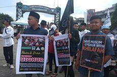 Aksi Bela Uighur, Massa Minta Pemerintah Putus Hubungan Diplomatik dengan RRC