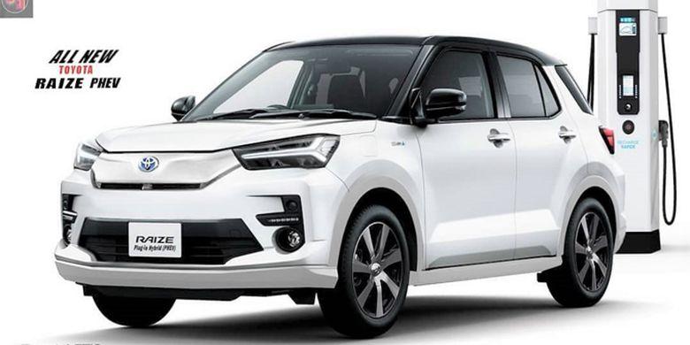 Modifikasi Digital Toyota Raize PHEV
