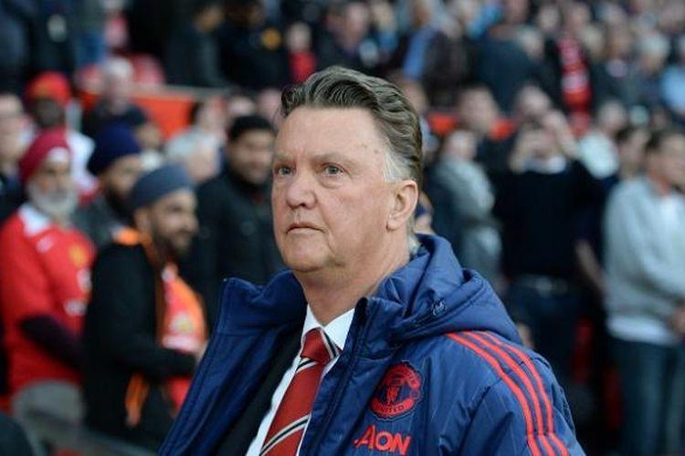 Louis van Gaal saat masih menangani Manchester United.