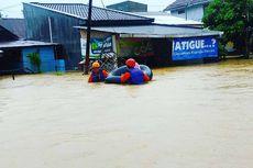 Ratusan Korban Banjir di Kalsel Dievakuasi, Termasuk Seorang Ibu Hamil