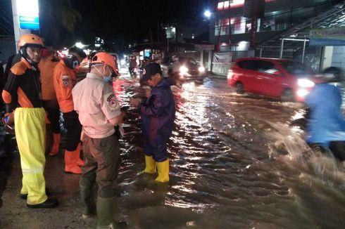 4 Kecamatan di Serang Banten Diterjang Banjir, Jalan Nasional Sempat Lumpuh