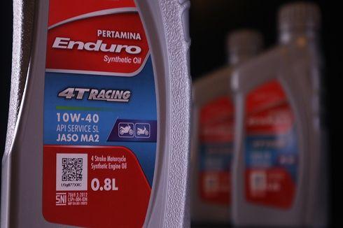 Inovasi Kompetitif dan Ekonomis, PT Pertamina Lubricants Luncurkan Enduro 4T Racing 0,8 L
