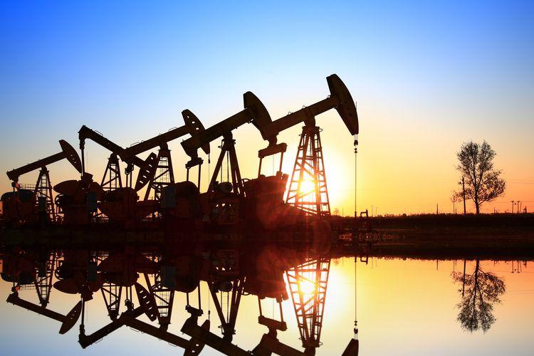 Ilustrasi aktivitas industri hulu minyak dan gas bumi