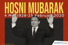 INFOGRAFIK: Perjalanan Karier Mantan Presiden Mesir Hosni Mubarak