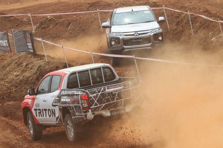 Pengalaman di lintasan offroad bersama Triton terbaru dari Mitsubishi