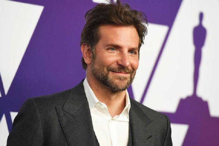 Aktor asal Amerika Serikat yang membintangi film A Star is Born, Bradley Cooper.