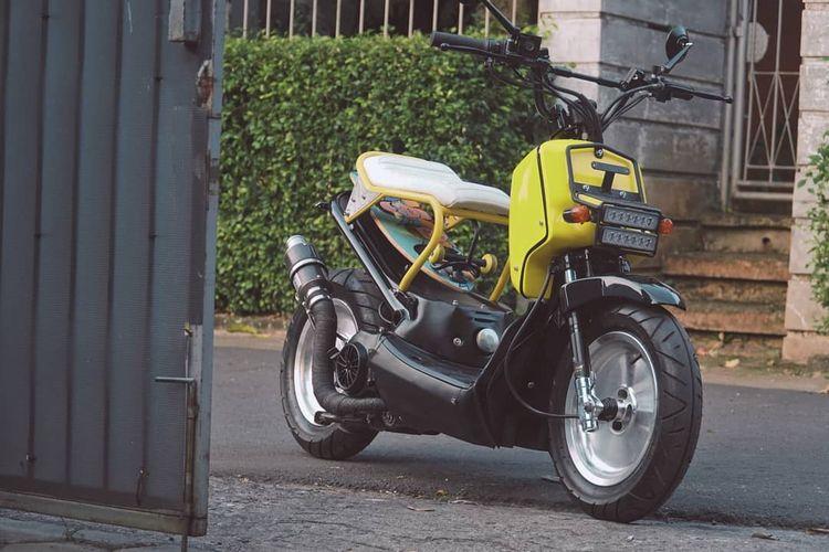Honda BeAT Pop Zoomer garapan Katros Garage