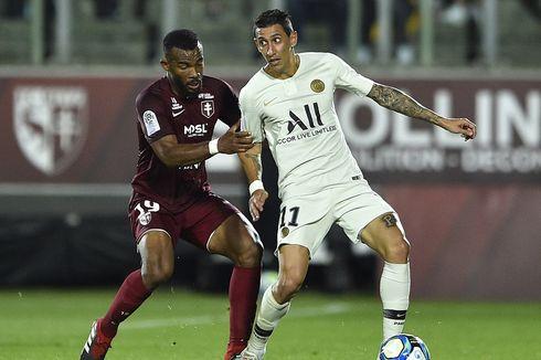 Metz Vs PSG, Menang 2-0, Les Parisiens Naik ke Puncak Klasemen