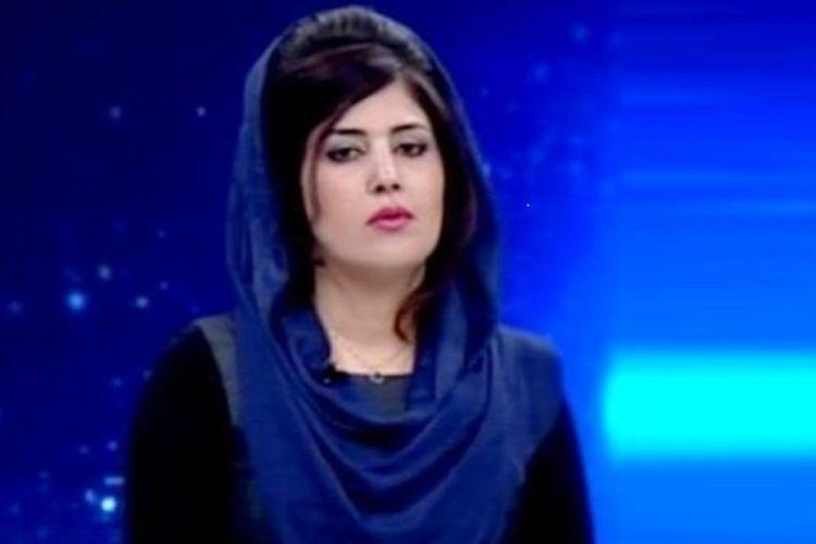 Mantan jurnalis TV di Afghanistan,  Mena Mangal, ditembak mati orang tak dikenal pada Sabtu (11/5/2019) di Kabul. (VOA News)