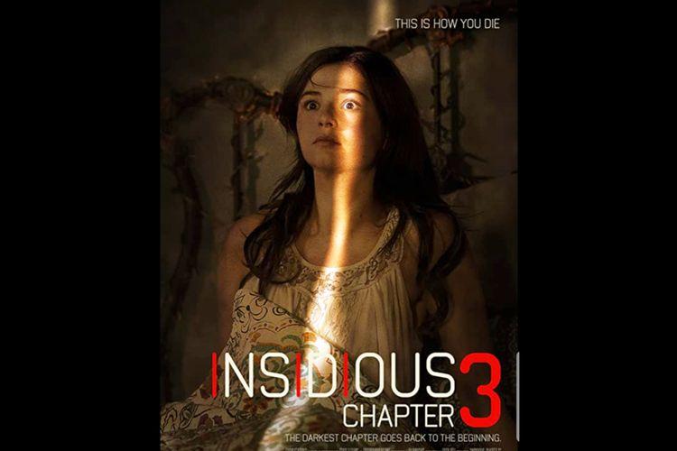 Poster film Horor Insidious Chapter 3 (2015), tayang malam ini Kamis (17/09/2020) di Trans TV