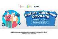 Link Pendaftaran Vaksin Covid-19 dan Cara Daftarnya