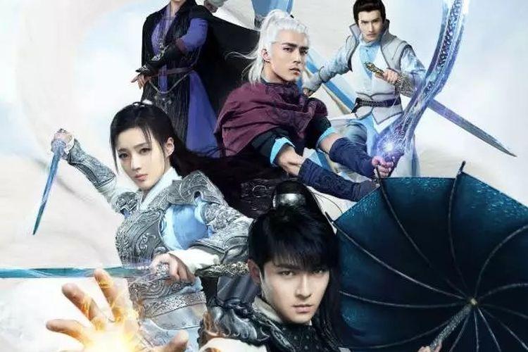 The Taoism Grandmaster tayang di Viu mulai 12 April 2021 yang menceritakan tentang kisah heroik Zhang Ling.