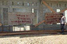 Marah pada Kepala Desa, Warga Segel Bangunan Baru untuk Pasien Covid-19
