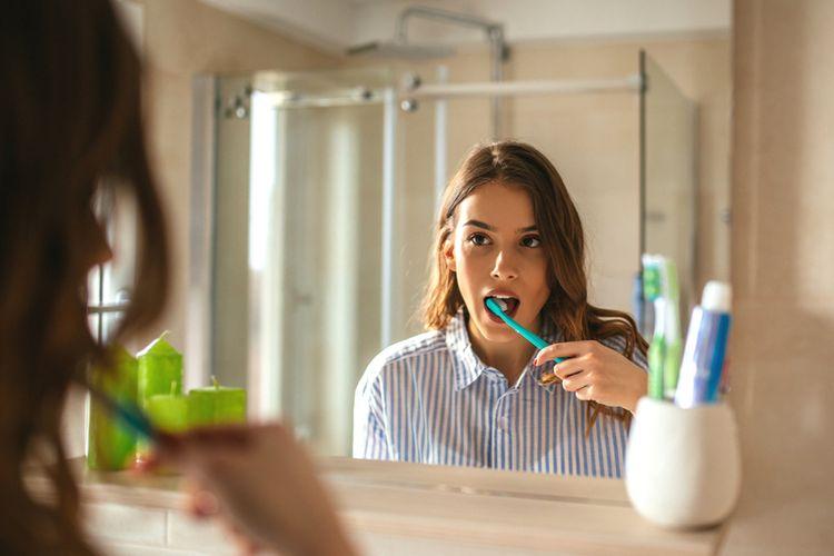 Sikat gigi tidak membatalkan puasa.