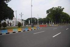 Istana Kepresidenan Dilempari Batu dan Petasan