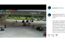 Viral di Medsos, Hanya Beda 1 Jam, Dua Kecelakaan Terjadi di Fly Over Simpang Jam Batam