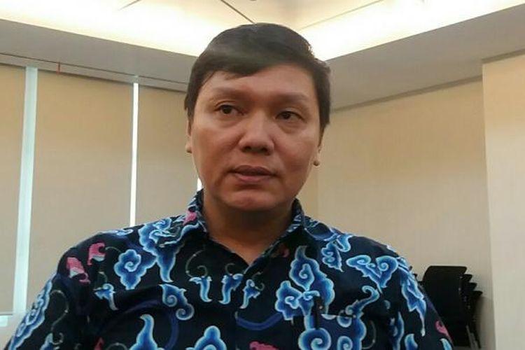 Dosen Fakultas Hukum Unika Atmajaya Surya Tjandra di Kampus Atma Jaya, Jakarta, Senin (7/3/2016)