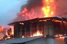 Kebakaran di Sorong Papua Hanguskan 10 Rumah Petak dan Satu Ruko