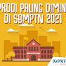 INFOGRAFIK: 5 Prodi Paling Diminati di SBMPTN 2021