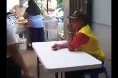 Viral, Oknum Petugas Ngotot Ingin Makan di Tempat di Kramat Pela