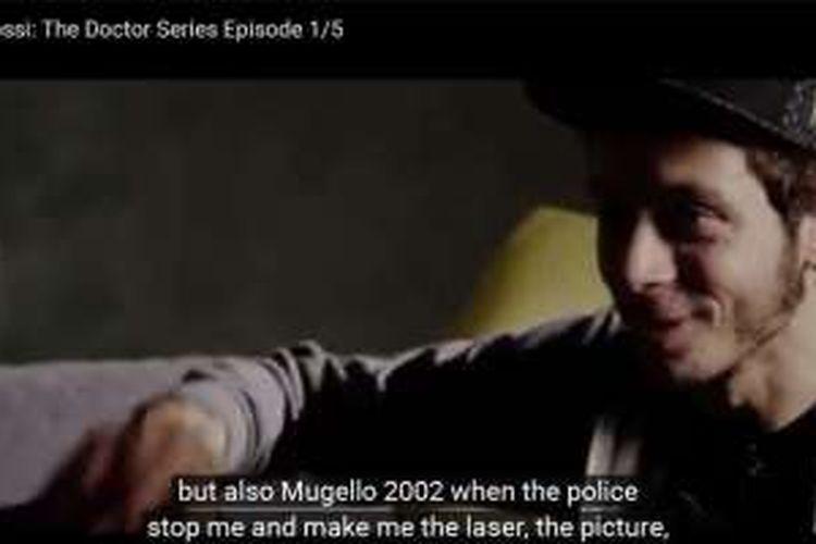 Film pendek Valentino Rossi episode pertama.