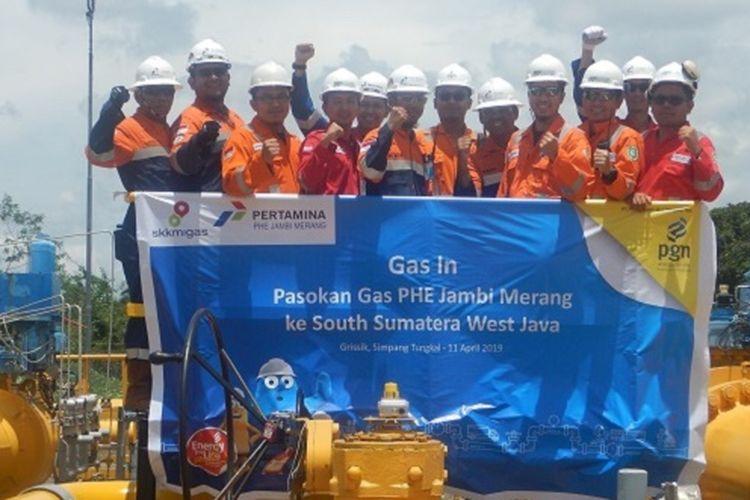Pasokan hulu PT Perusahaan Gas Negara Tbk (PGN) bertambah secara volume berkat kerja sama dari Blok Jambi Merang yang dikelola oleh PT Pertamina Hulu Energi (PHE).