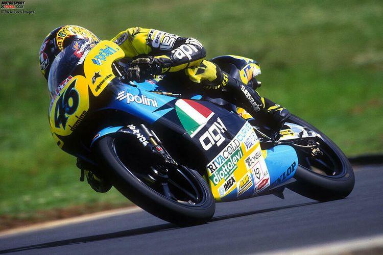 Valentino Rossi di kelas 125cc 1996