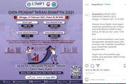 Sore Ini, Pendaftaran SNMPTN 2021 Resmi Ditutup