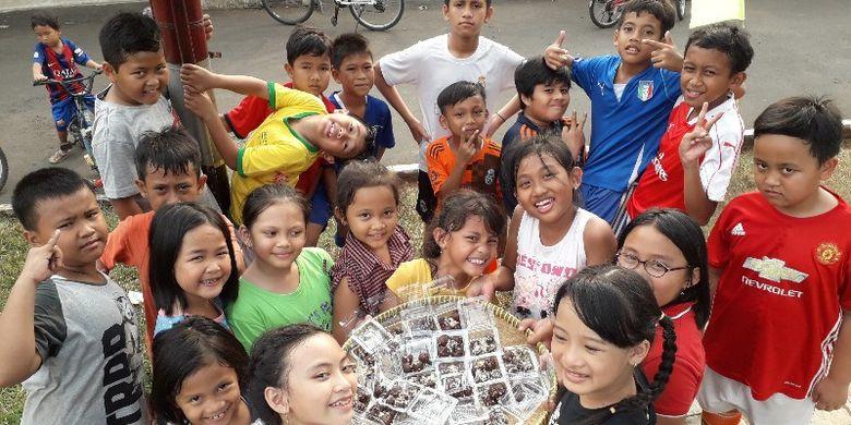 Cooking class menjadi salah satu kegiatan dari kampanye No Gadget Campaign yang digerakkan di perumahan Griya Rajawali Bintaro 1, Ciputat, Tangerang Selatan.