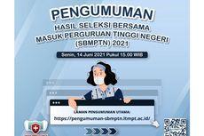 Buka pengumuman-sbmptn.ltmpt.ac.id untuk Cek Pengumuman SBMPTN 2021