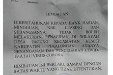 Sejumlah Desa di Pekalongan Larang Masuk 'Bank Tongol' hingga Debt Collector